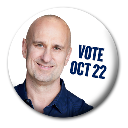 Vote Paul Cookson October 22